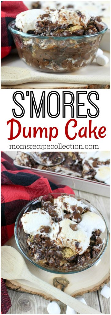 S'mores Dump Cake Dessert Recipe | Mom's Recipe Collection
