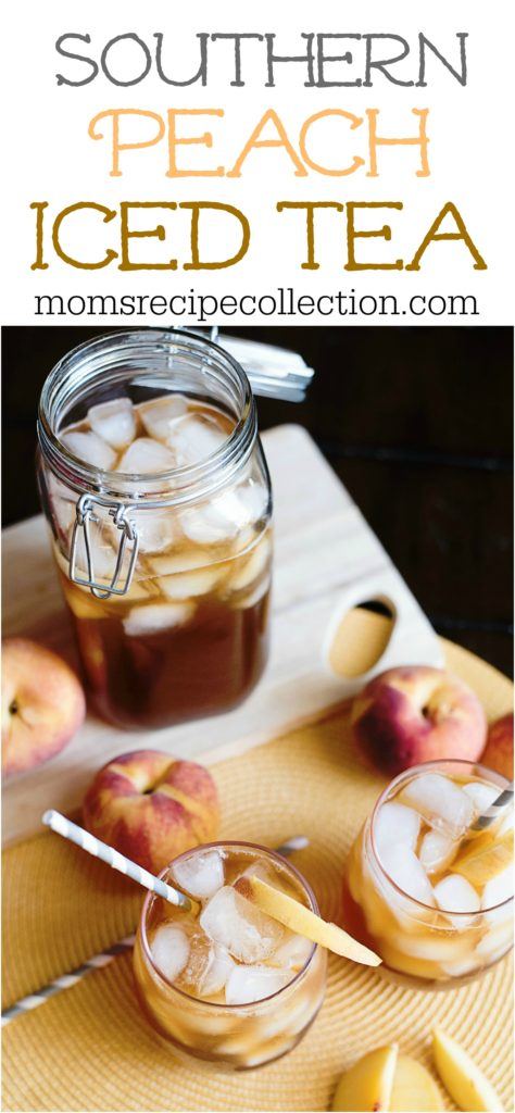 Southern Peach Iced Tea Recipe | Mom's Recipe Collection
