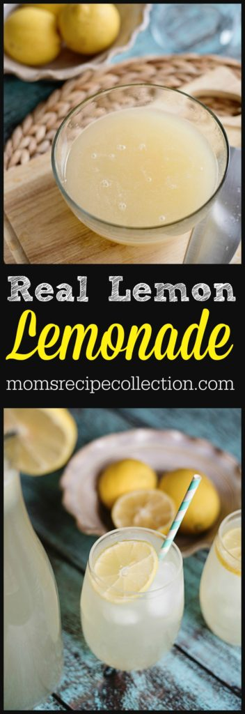Simple Real Lemon Lemonade Recipe | Mom's Recipe Collection