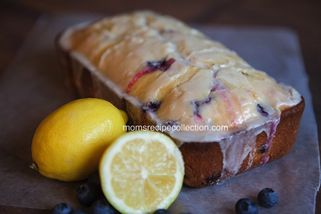 This buttermilk blueberry lemon loaf topped with homemade icing is fresh and delicious.