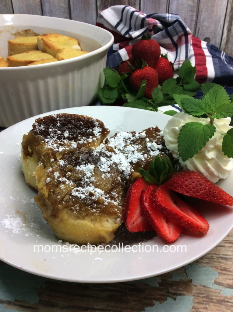 This thick piece of cinnamon french toast is perfect for brunch.