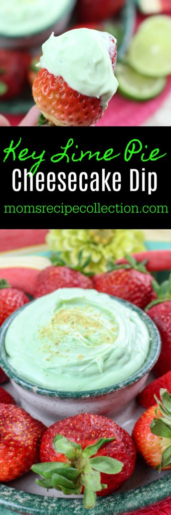 Try out this easy key lime pie cheesecake dip at your next get-together.