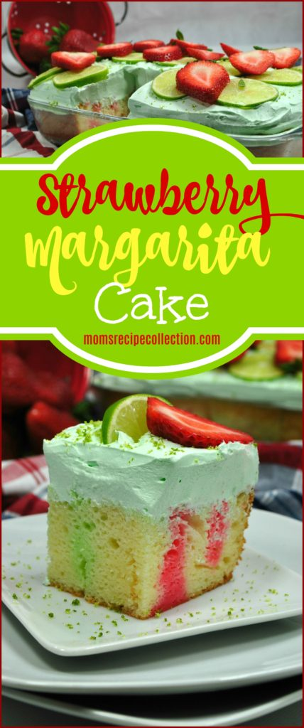 This strawberry margarita cake recipe is refreshing and delicious.