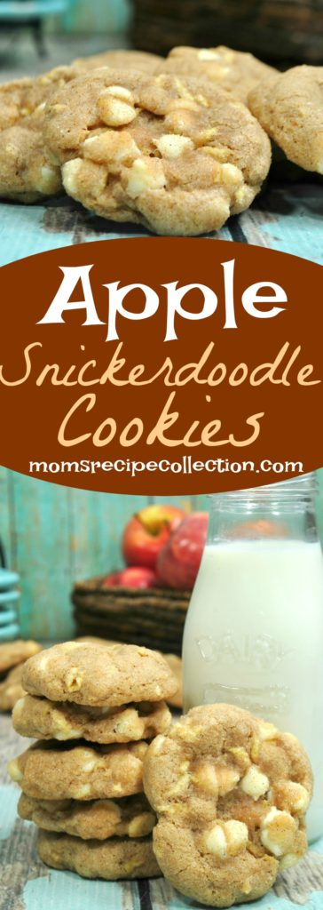 This apple snickerdoodle cookie recipe is great for any occasion.