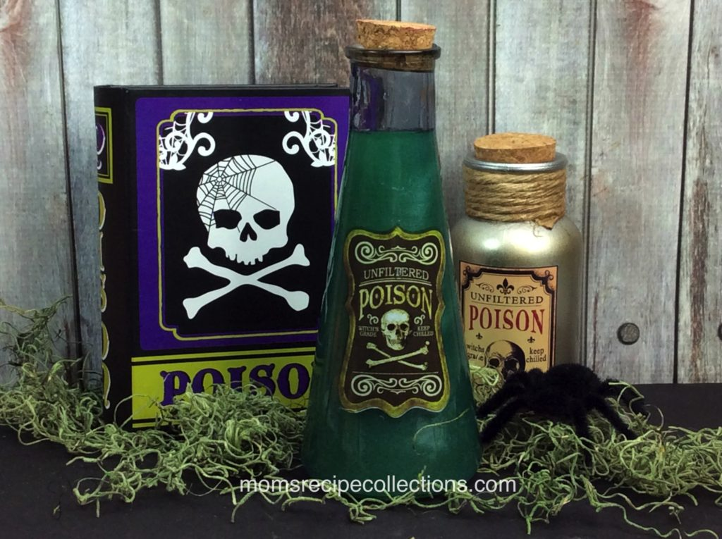 This green poison moonshine recipe is perfect for Halloween.