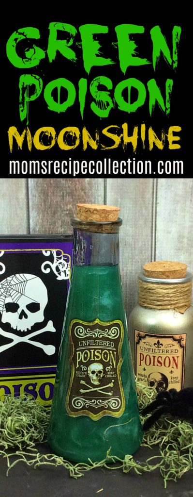 This green poison moonshine recipe is easy to prepare and creative.