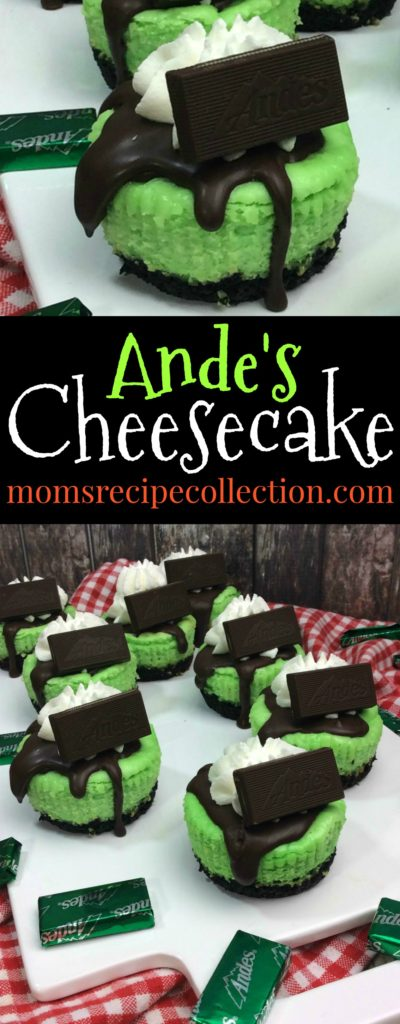 These mini Ande's Cheesecakes will be a hit!