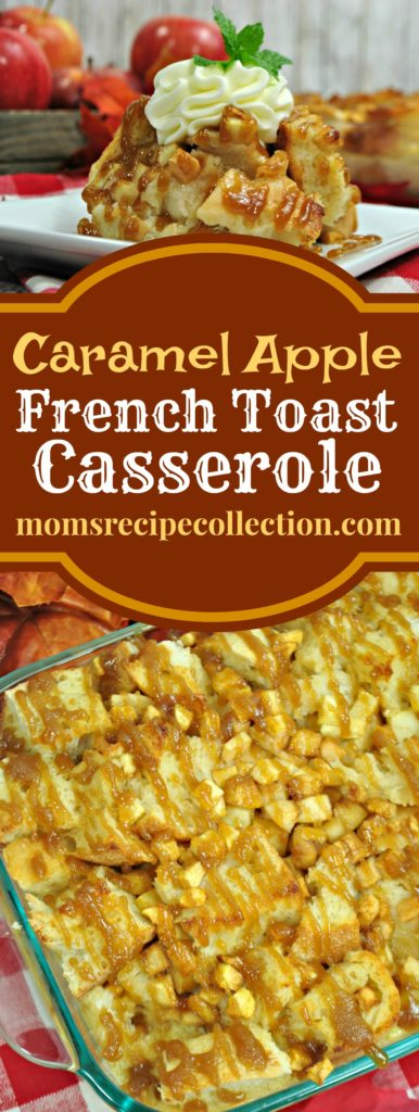 This simple Apple French Toast Casserole is a real crowd-pleaser!