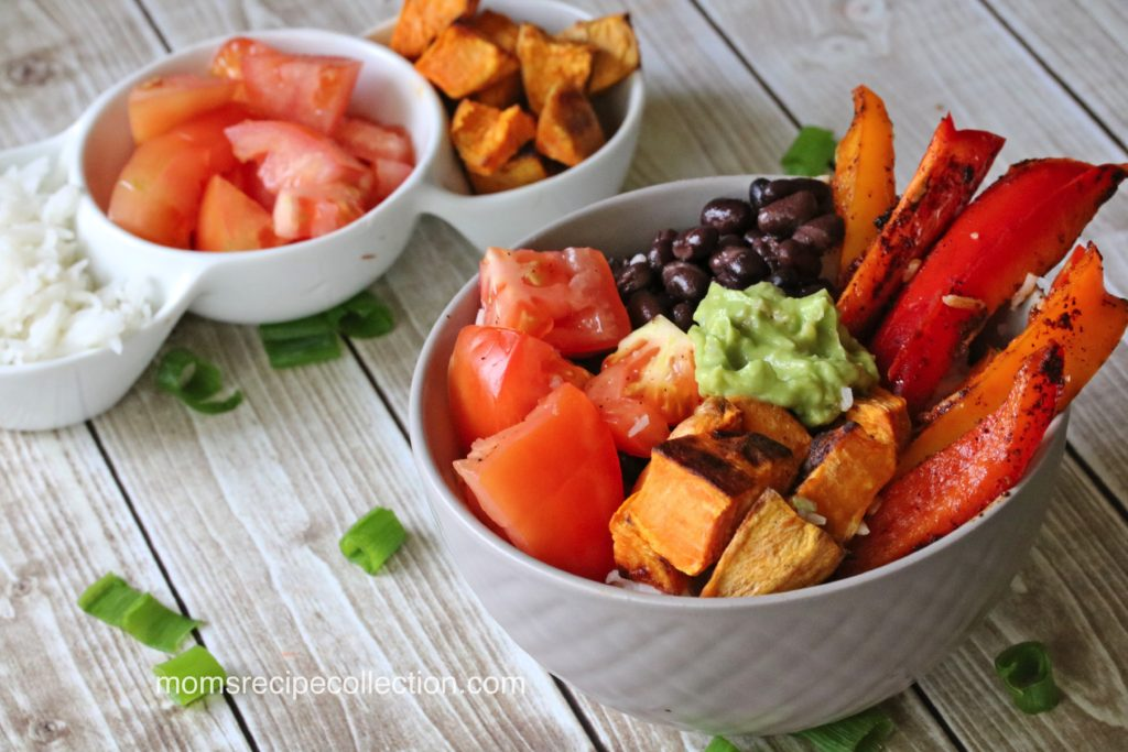 Flavorful and delicious, vegan sweet potato bowls are packed with so many flavors.