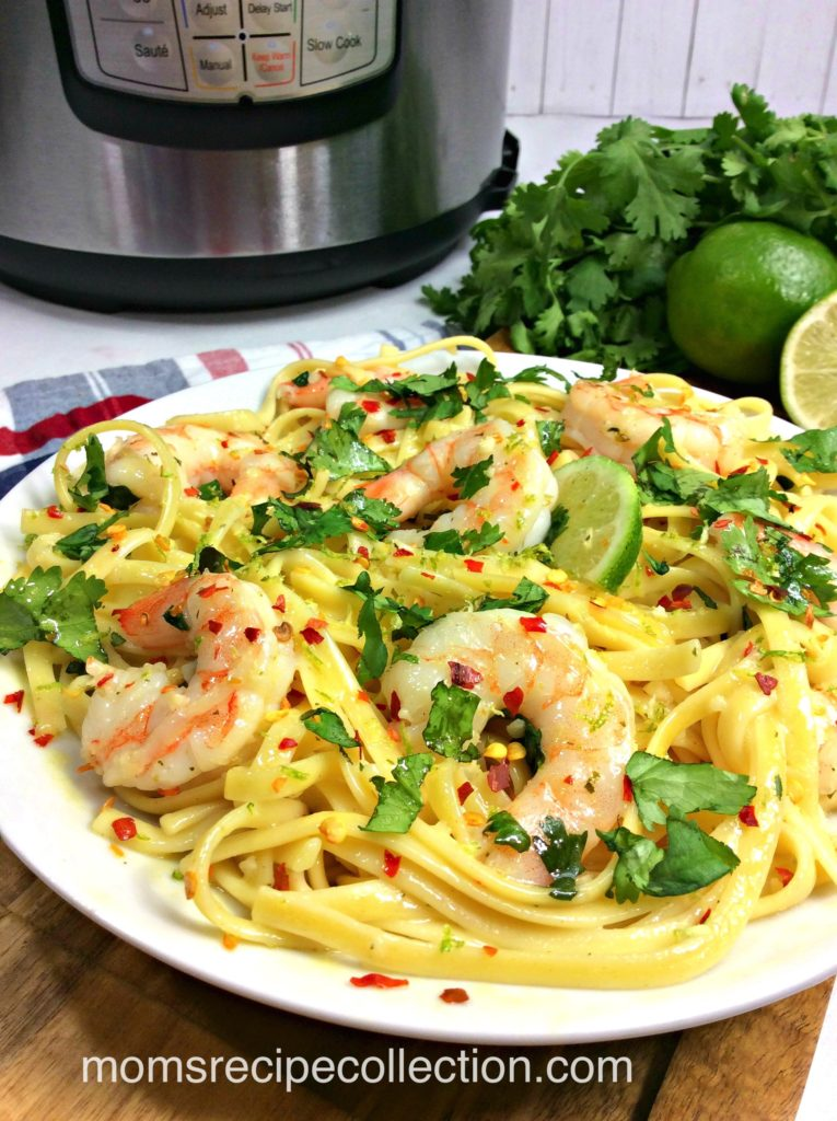 Fiesta Shrimp Pasta is a delicious dinner that your whole family will love.