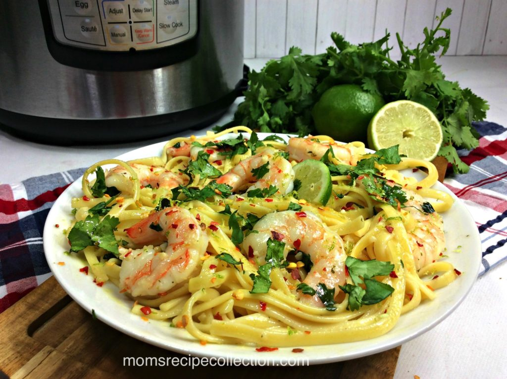 This delicious Fiesta Shrimp Pasta is packed with flavor and so easy to make.