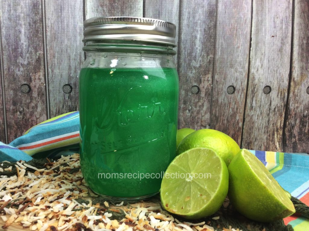 Delicious and refreshing homemade moonshine
