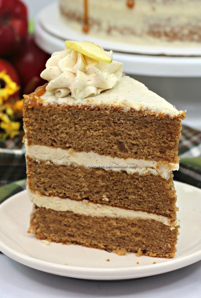 This moist and delicious apple cider cake will be a crowd pleaser for your next event.