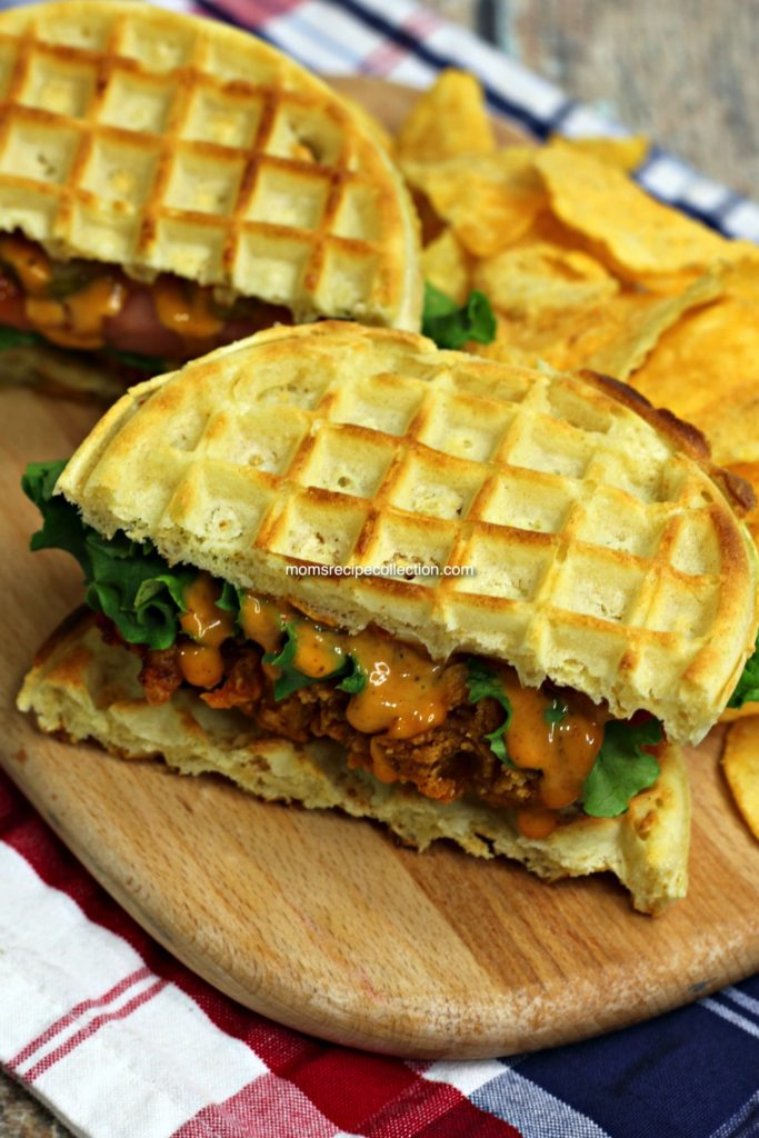 Crispy chicken and golden waffles make this recipe a real fan favorite.