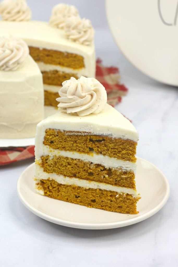 You'll want to try this delicious pumpkin layer cake.