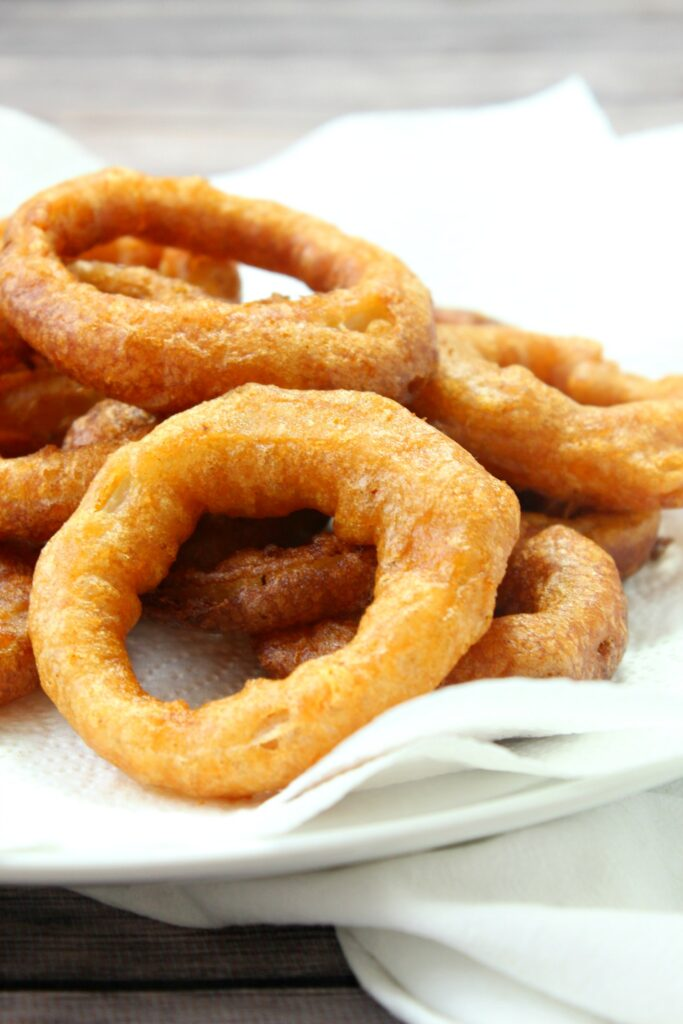 These crispy and delicious onion rings are the perfect side for your next meal.