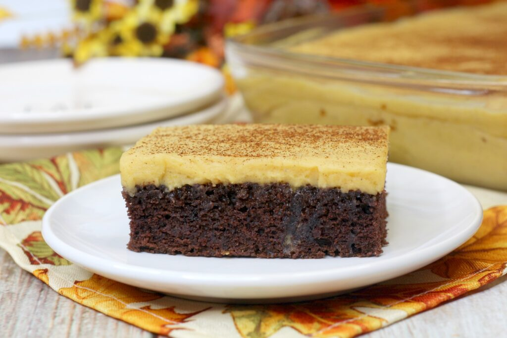 This delicious twist on an original sheet cake is sure to satisfy your family!
