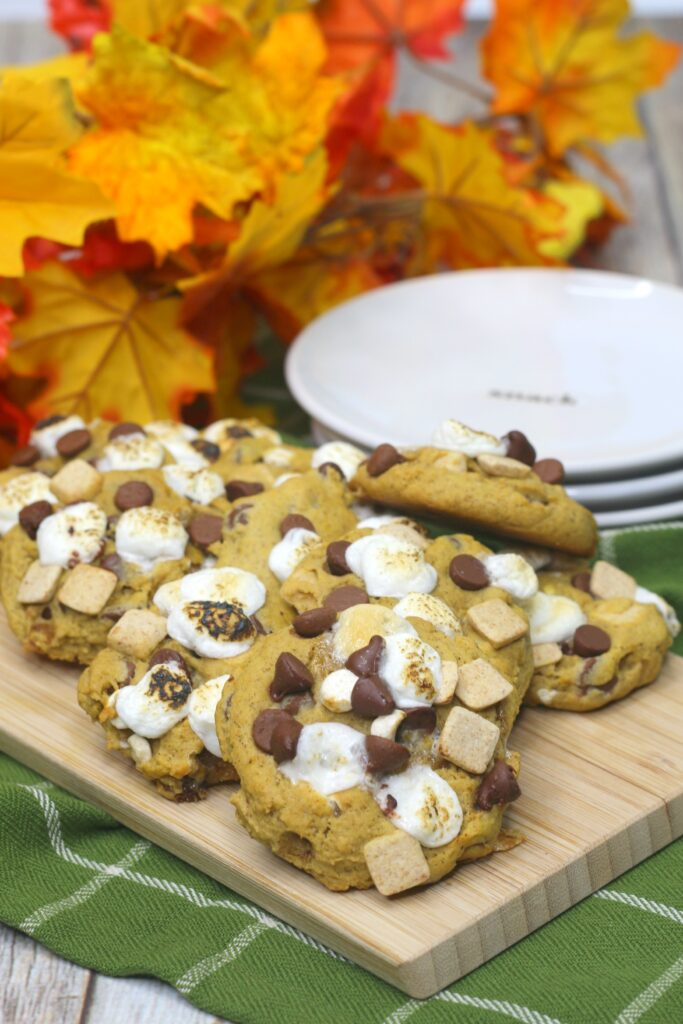 Pumpkin Smores Cookies are the delicious treat your whole family will love.